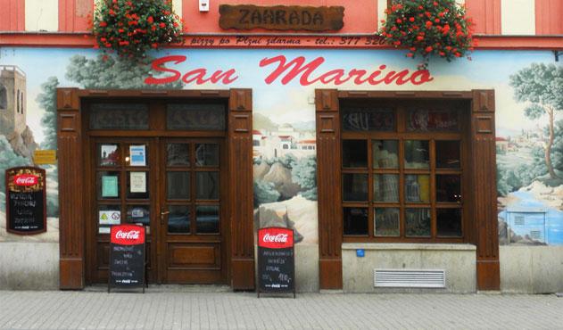 Pizzeria san marino Plzeň Bory
