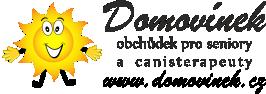 Domovínek - obchůdek pro seniory a canisterapeuty